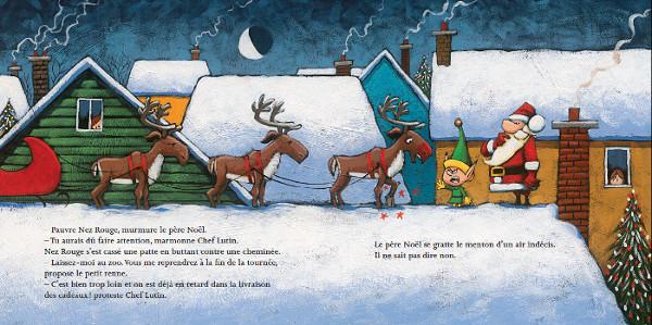 Le père Noël ne sait pas dire non