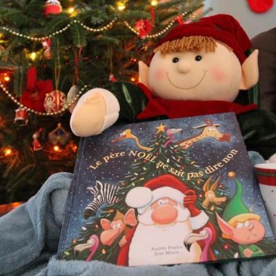 Le père Noël ne sait pas dire non – trucs pour animer l'album aux enfants