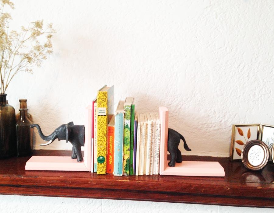 DIY – Appuie-livres animal sauvage