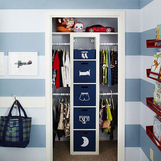 Un meuble multifonctionnel pour le p tit - Organizacion de armarios ...