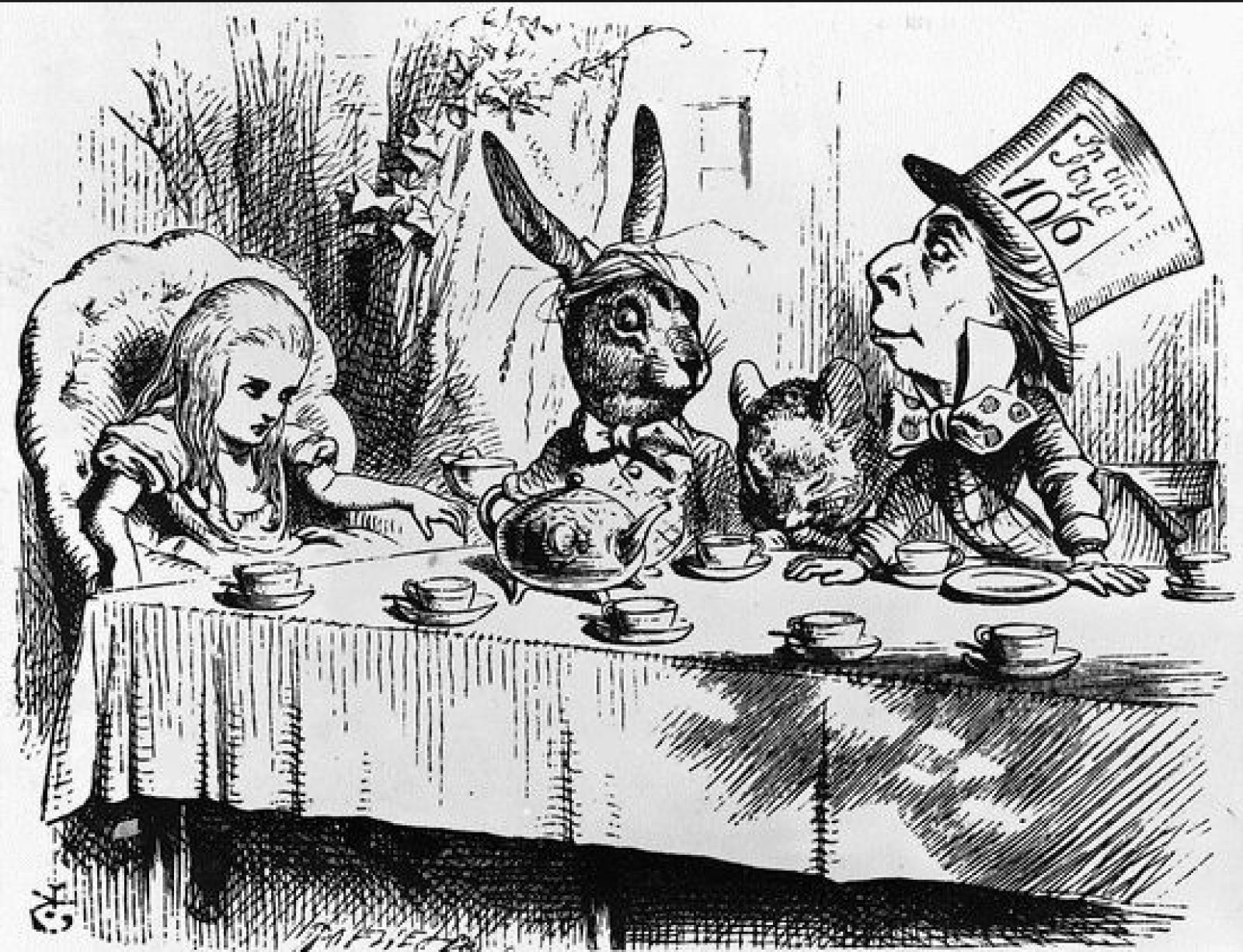 Alice au pays des merveilles de Lewis Carroll a 150 ans!