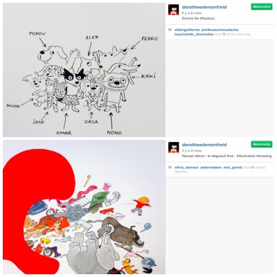 Dorothée de Monfreid - Instagram