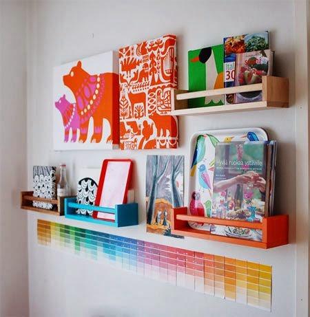 Des Objets Ikea Transformes En Etageres Pour Les Livres Les P Tits Mots Dits Blogue De Litterature Jeunesse
