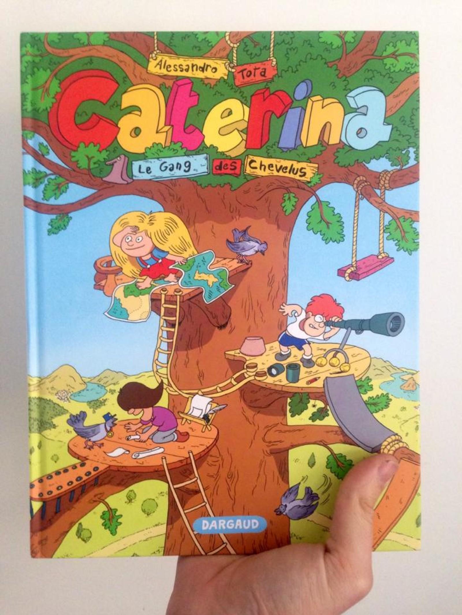Fun BD : Caterina – Le gang des chevelues
