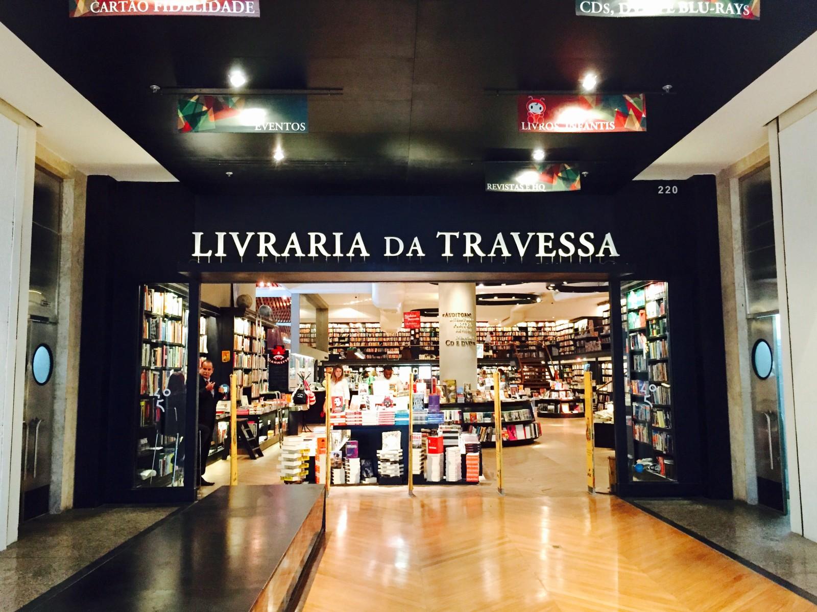 Inspiration : librairie de Rio « Livraria da Travessa » !