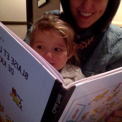 Pourquoi j'achète des livres à ma fille.
