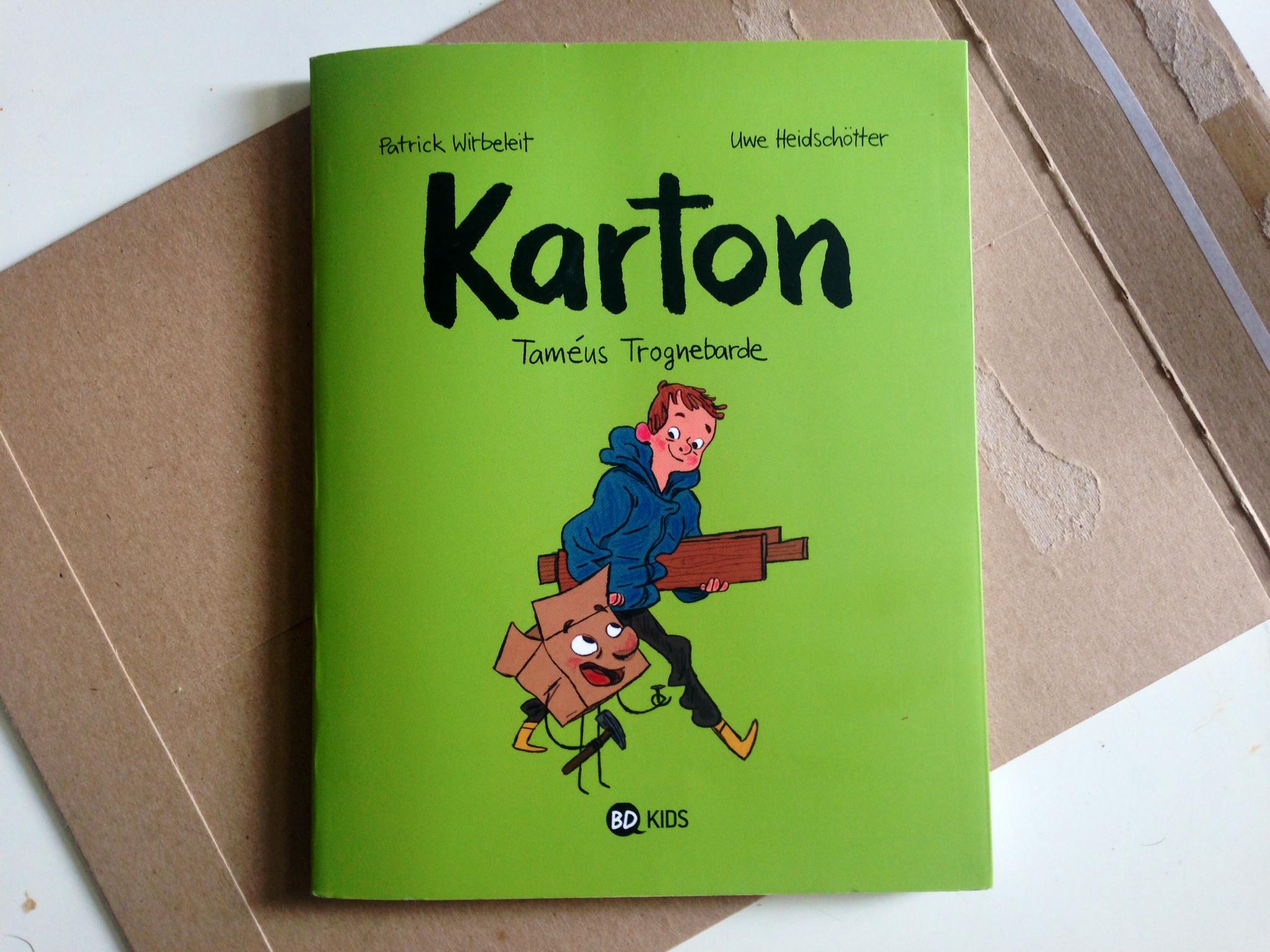 KARTON – une BD pour enfants franchement wow!