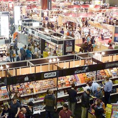 Salon international du livre de Québec du 8 au 12 avril !