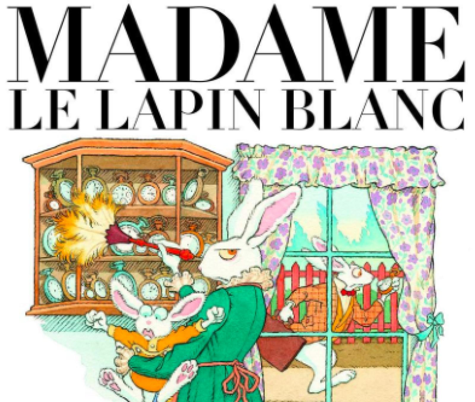 Ceci Nest Pas Un Lapin >> Madame Le Lapin Blanc Ceci N Est Pas Un Lapin De Paques Les P