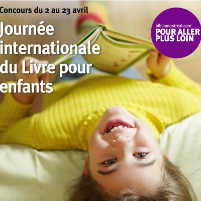 La journée internationale du livre pour enfants + UN FOU CONCOURS!