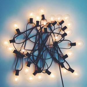 guirlandes de lumières