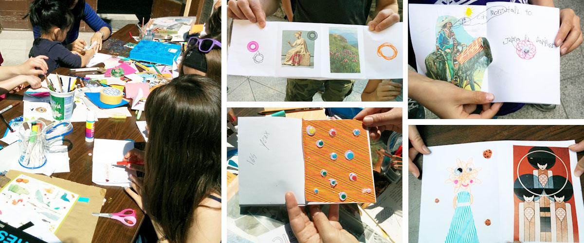 Fanzine - Spirographeuses du dimanche - atelier chromatic