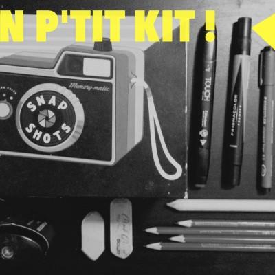 DESSIN : Mon kit de pro.