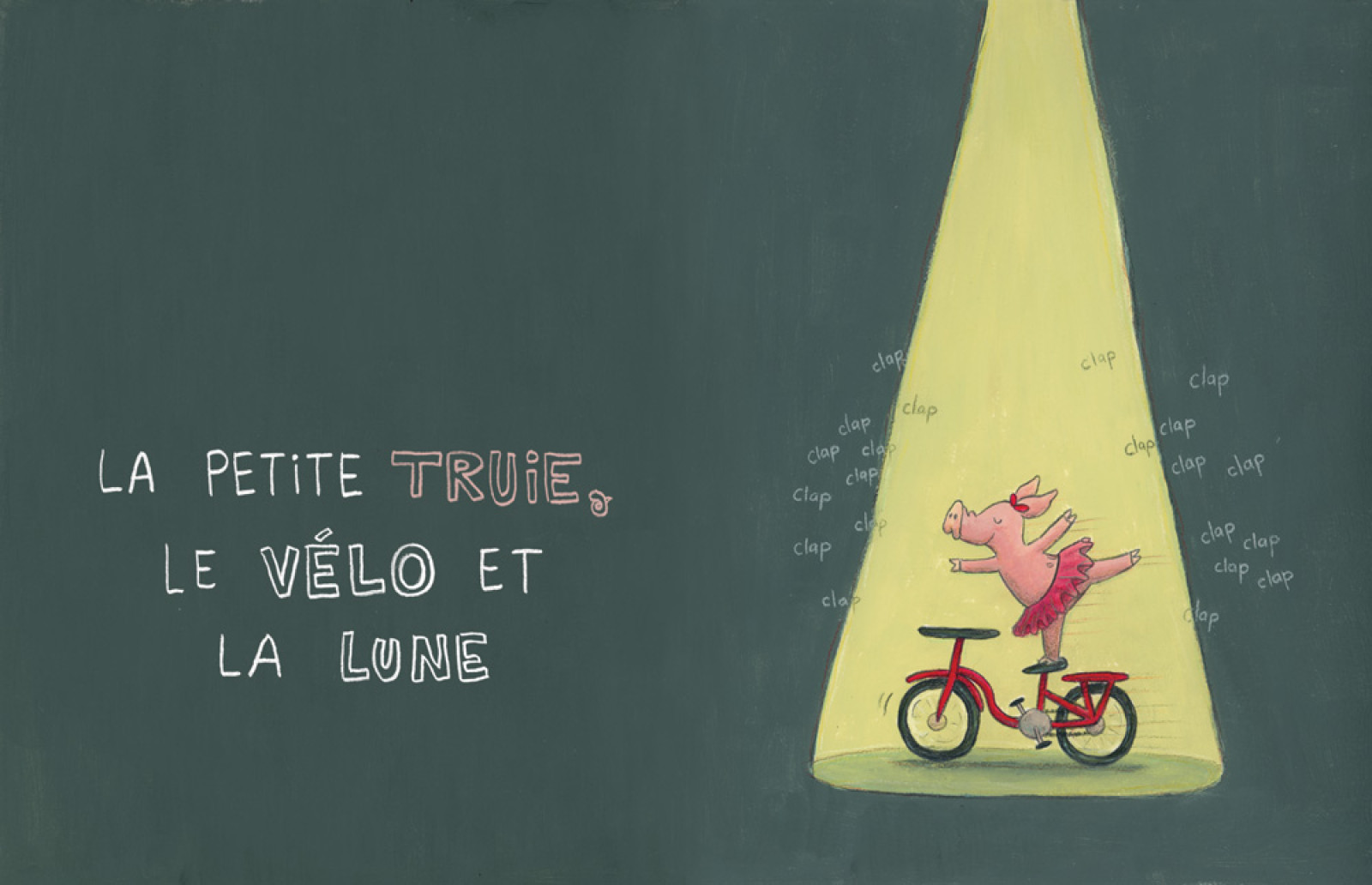 PJLQ : La petite truie, le vélo et la lune