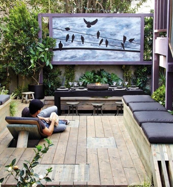 banquette pour balcon perfect meubles de jardin en palettes de bois with banquette pour balcon. Black Bedroom Furniture Sets. Home Design Ideas
