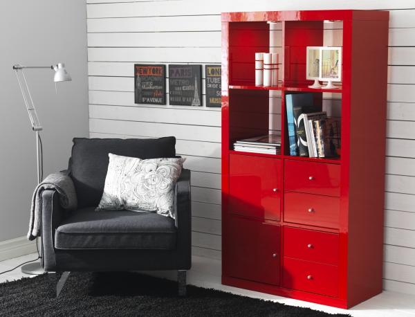 l 39 tag re ikea kallax avec 8 casiers les p 39 tits mots dits blogue de litt rature jeunesse. Black Bedroom Furniture Sets. Home Design Ideas