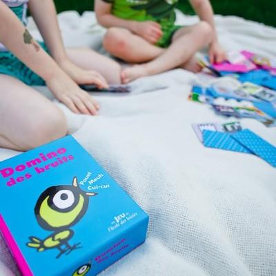 Domino des bruits – un jeu inspiré d'un livre !