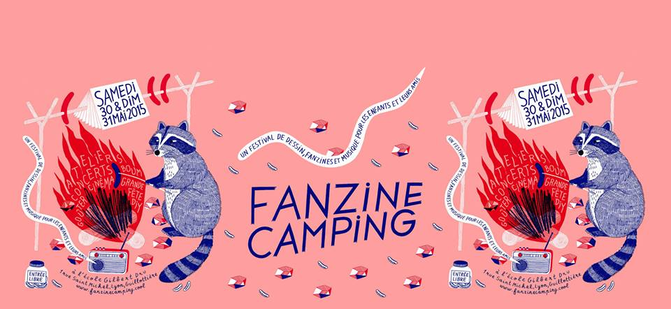 Fanzine Camping chez Marguerite Duras à Paris