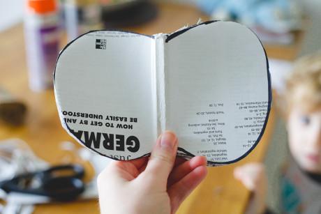 DIY : Transformer un vieux livre en citrouille.