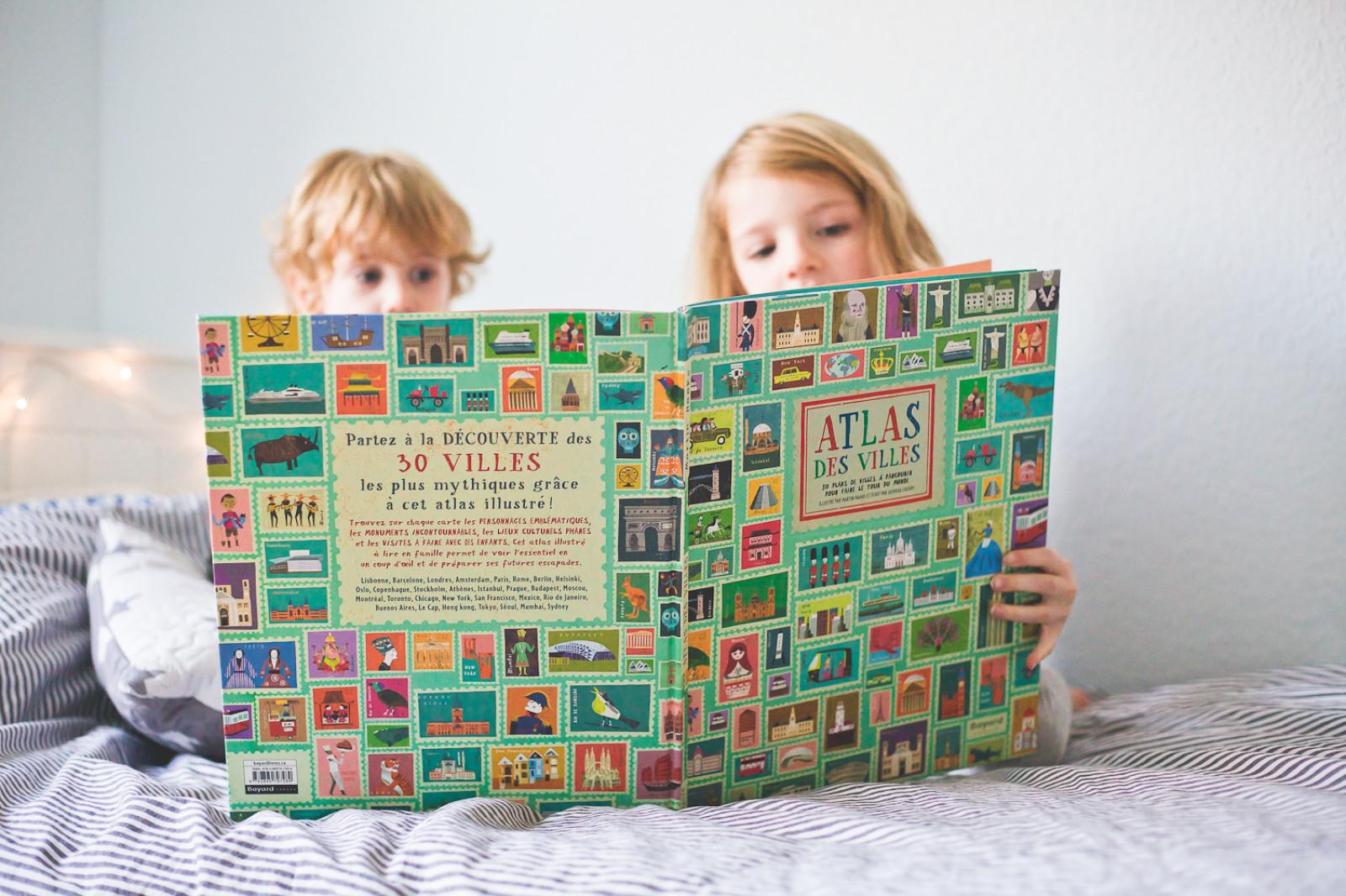 Atlas des villes : Partir en voyage dans son salon