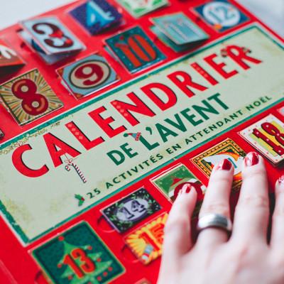 Calendrier de l'avent, 25 activités en attendant Noël