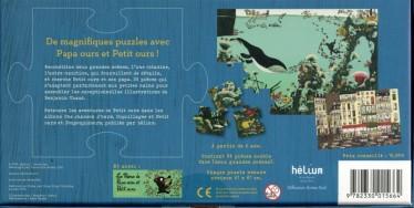 5 suggestions de cadeaux - Puzzle Papa ours et Petit ours (dos)