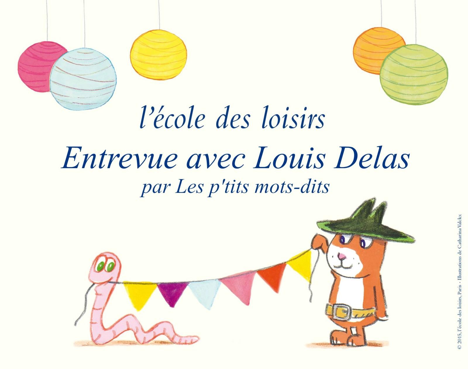 Entrevue avec Louis Delas, DG de l'école des loisirs