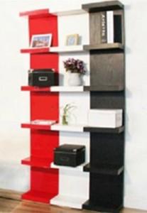 Bilbiothèque 3 couleurs - L'étagère IKEA LACK avec 6 casiers !