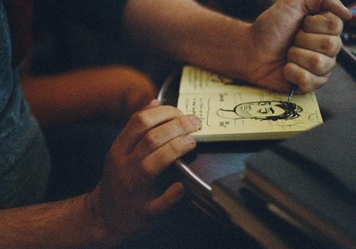 Je dessine un poing c'est tout - Mat Potvin