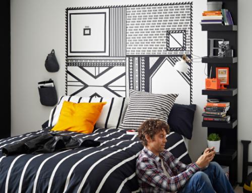 LACK et tête de lit surdimensionnée - L'étagère IKEA LACK avec 6 casiers !