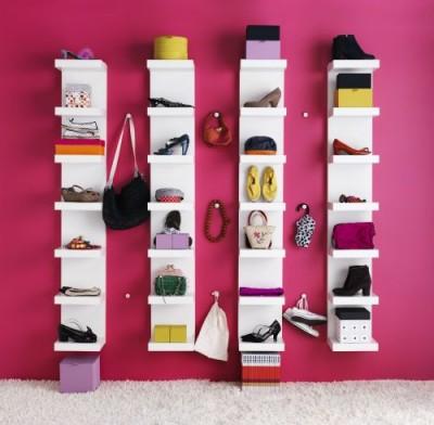 LACK pour dressing - L'étagère IKEA LACK avec 6 casiers !