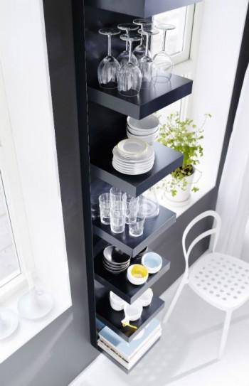 LACK pour salle à manger - L'étagère IKEA LACK avec 6 casiers !