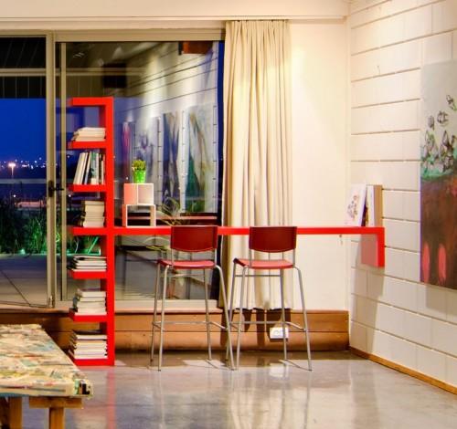 Meuble intégré bureau - L'étagère IKEA LACK avec 6 casiers !