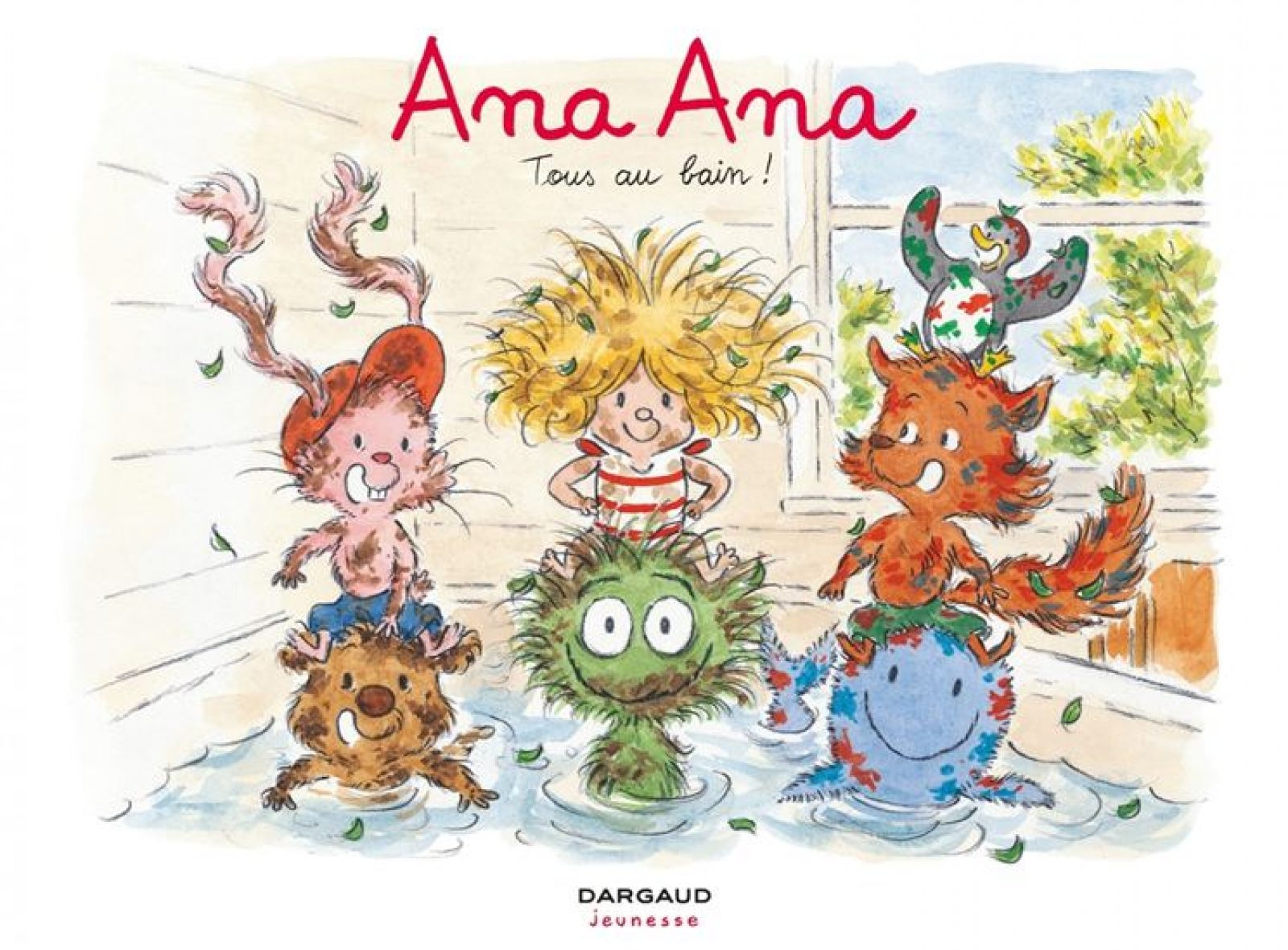 Tous au bain avec Ana Ana !