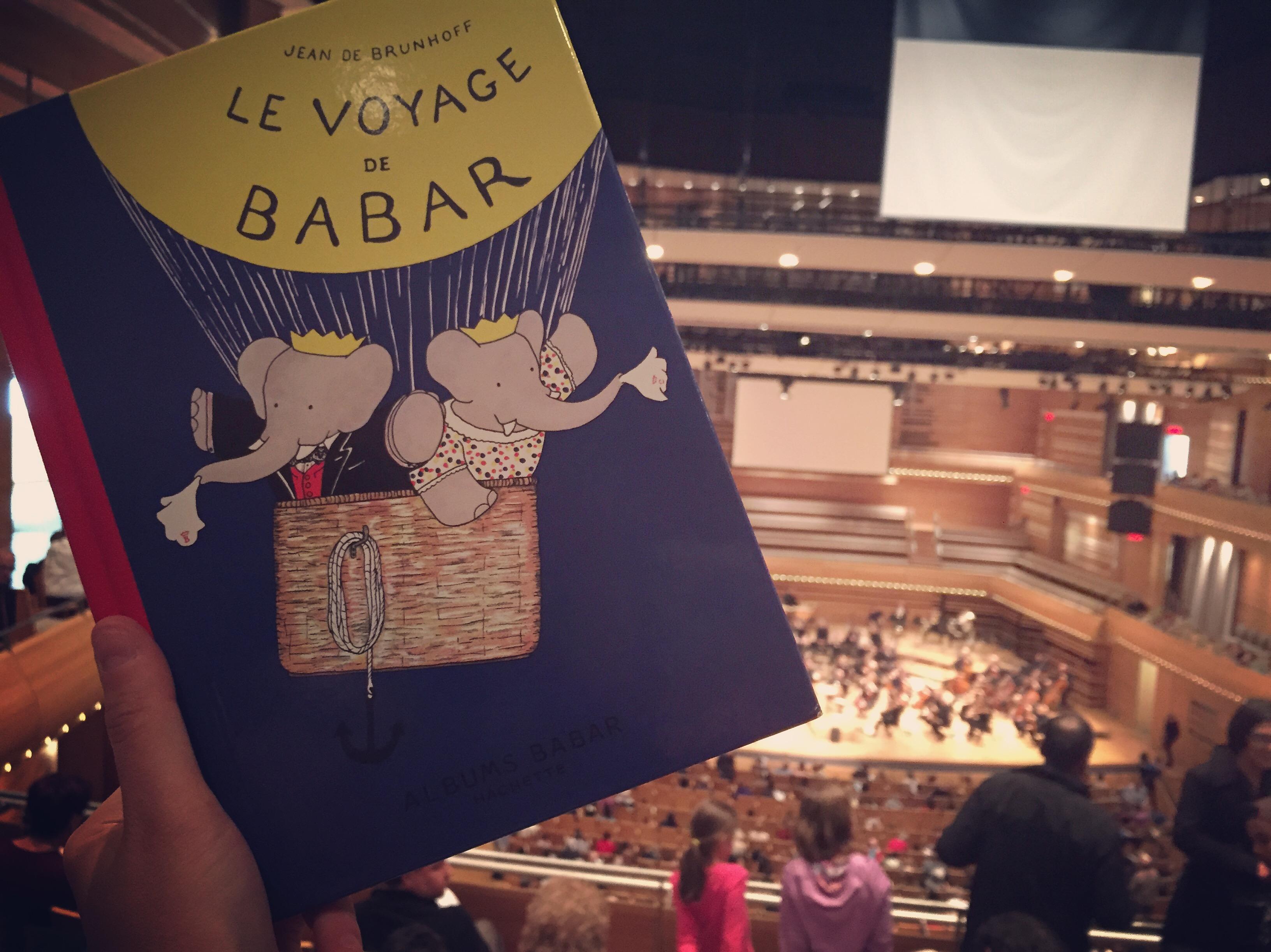 Babar célébré par l'Orchestre symphonique de Montréal
