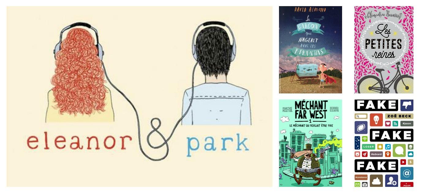5 suggestions de romans à partir de 8 ans et plus