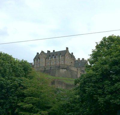 La librairie Waterstones - Château d'Edimbourg
