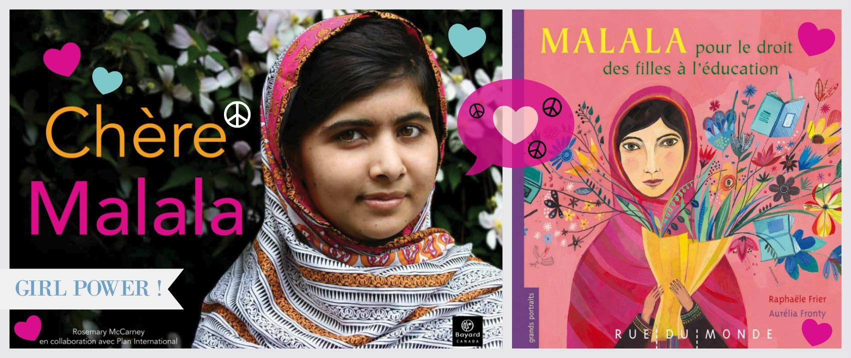 Découvrez l'exceptionnelle Malala Yousafzai ! ☮