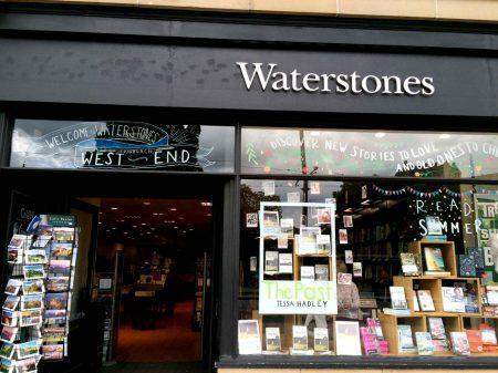 La librairie Waterstones d'Edimbourg