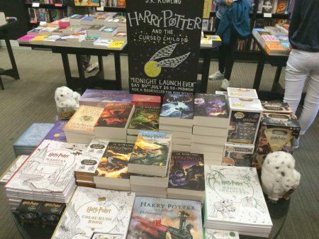 La librairie Waterstones - Harry Potter