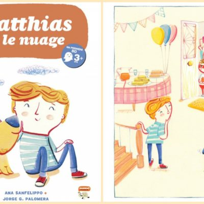 Matthias et le nuage – BD Collection Mamut