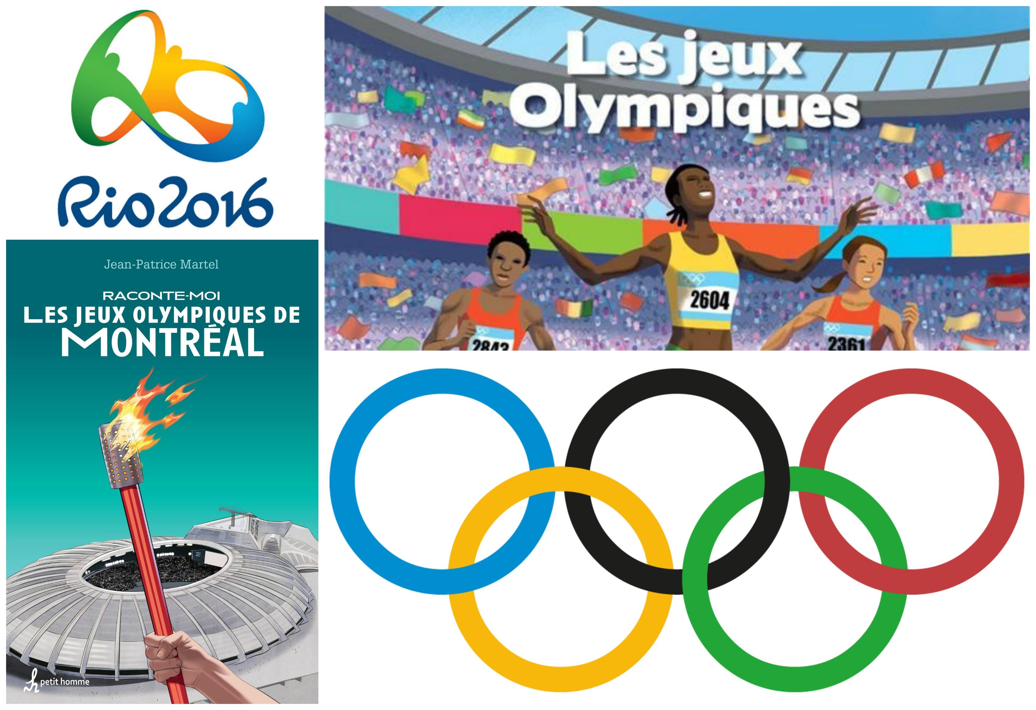 Top 5 des livres sur les sports des Jeux olympiques