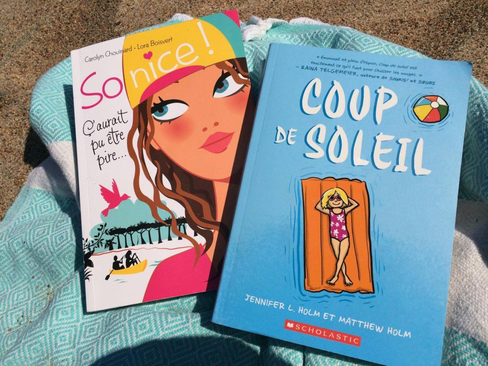 2 lectures d'été : So nice & Coup de Soleil