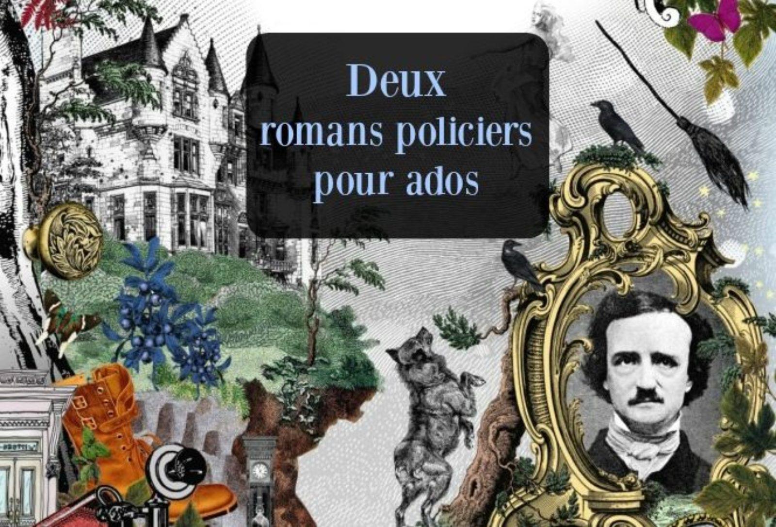2 romans policiers pour ton ado : Intrigue + mystère