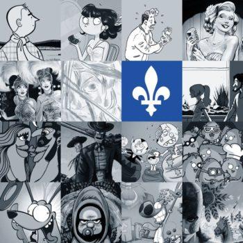 La Fête de la BD de Bruxelles - Le Québec à l'honneur