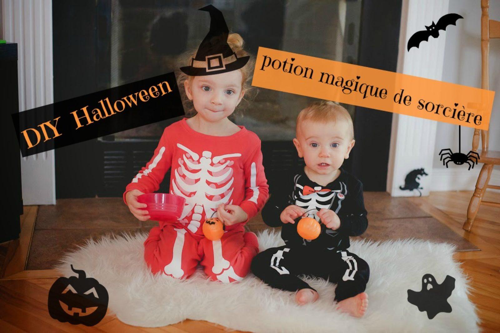 DIY spécial Halloween : potion magique de sorcière