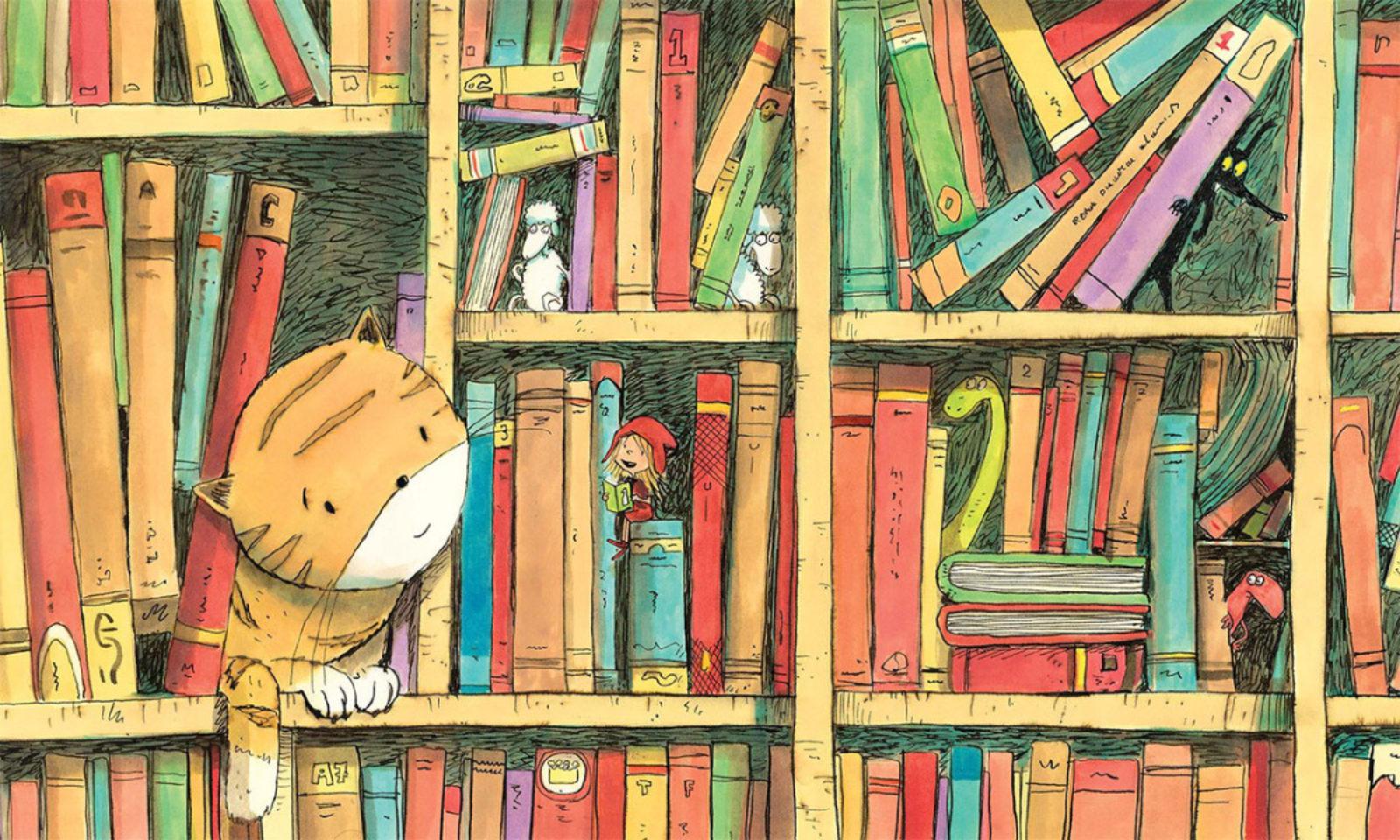 2 histoires de loups qui sortent des livres !