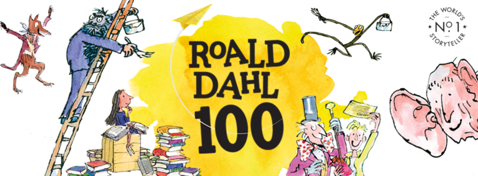 Roald Dahl a 100 ans mais ne vieillit pas – Lecture obligée !