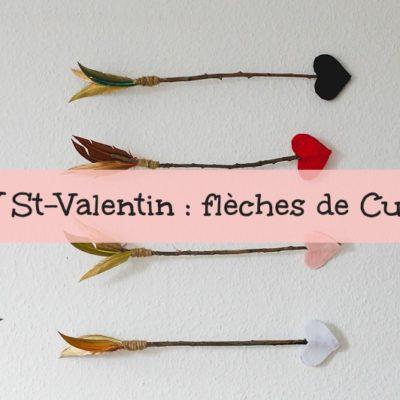DIY Saint-Valentin : fabriquer ses flèches de Cupidon !