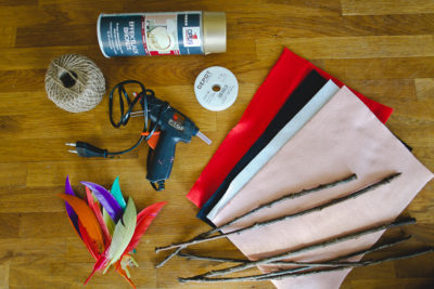 DIY Saint-Valentin : flèches de Cupidon